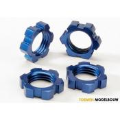 Wheel nuts splined 17mm blue-anodized - TRX5353