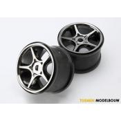 Wheels Gemini 3.8 Inch black chrome - TRX5372X