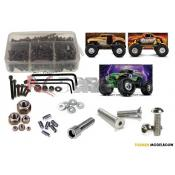 RCScrewZ - Traxxas Monster Jam Replica RTR Stainless Steel Screw Kit