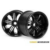 Wheels Tremor Black - HPI3251