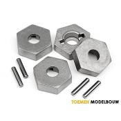 17MM HEX AND PIN SET 4pcs - HPI101190