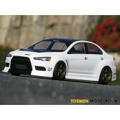 BODY MITSUBISHI LANCER EVOLUTION X 200mm - HPI17545