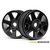 V7 WHEEL BLACK 42x83mm - HPI103677
