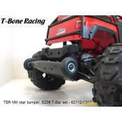 Traxxas Summit - T-Bone Racing Basher rear bumper & Wheely bar