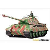 Heng long RC Tank 1:16 - German King Tiger with Porsche turret Deluxe
