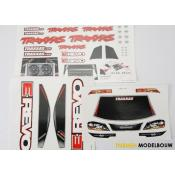 Decal sheets E-Revo - TRX5613