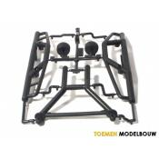BUMPER SET & LONG BODY MOUNT SET - HPI85059