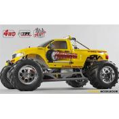 FG Monster Truck WB535 4WD 26cc - Body Geel