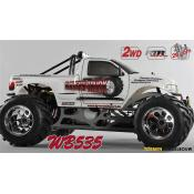 FG Monster Truck WB535 2WD 26cc - Body Wit