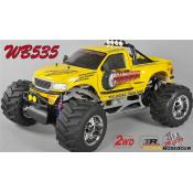 FG Monster Truck WB535 2WD 26cc - Body Geel