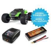 ARRMA Granite BLX V2 brushless monster truck 2WD RTR - COMBO-set