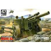 AFV Club 105mm Howitzer M101 A1 Carriage M2 A2 - 1:35 bouwpakket