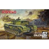 AFV Club British 3 inch gun Churchill tank - 1:35 bouwpakket