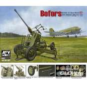 AFV Club British Vers.of Bofors 40mm MKIII AA Gun - 1:35 bouwpakket