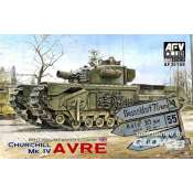 AFV Club Churchill MK IV AVRE with vinyl & work.tr. - 1:35 bouwpakket