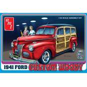 AMT 1941 Ford Custom Woody 1:25 bouwpakket