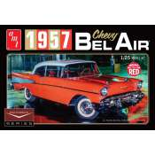 AMT 1957 Chevy Bel Air Cindy Lewis Car Culture 1:25 bouwpakket