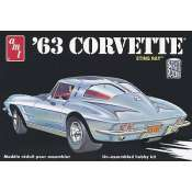AMT 1963 Corvette Stingray 1:25 Bouwpakket