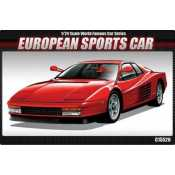 Academy European Sports Car Ferrari in 1:24 bouwpakket
