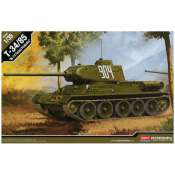 Academy T34-85 No112 factory production - 1:35 Bouwpakket