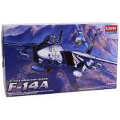 Academy US Navy Swing-wing fighter F14A in 1:72 bouwpakket - 12471