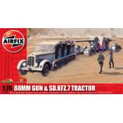 Airfix 88mm Gun and Tractor in 1:76 bouwpakket