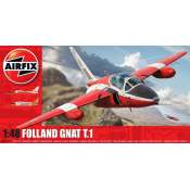 Airfix Folland Gnat T.1 in 1:48 bouwpakket