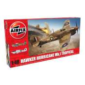 Airfix Hawker Hurricane Mk1 - Tropical in 1:48 bouwpakket