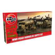 Airfix USAAF 8TH Airforce Bomber Resupply Set in 1:72 bouwpakket