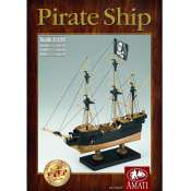 Amati Pirate Ship Houten Scheepsmodel 1:35
