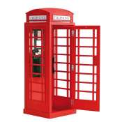 Artesania Latina Londons Red Phone Cabin 1:10