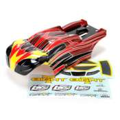 Body Set Painted 8T RTR Gas - LOS240004