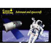 Caesar Miniatures Astronaut and Spacecraft - 1:200 Bouwpakket