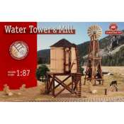 Constructo Water Tower & Mill houten model 1:87