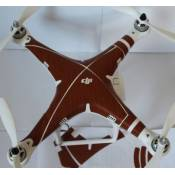 DJI Phantom 1 sticker hout