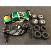 HPI RS4 onroad electro auto zeer compleet!