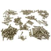 Integy Replacement Stainless Steel Screw Set for Traxxas TRX4 Scale & Trail Crawler