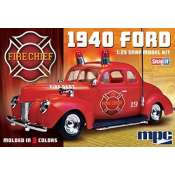 MPC 1940 Ford Fire Chief 1:25 klik bouwpakket
