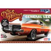 MPC The Dukes of Hazzard 1969 General Lee Dodge 1:25 klik bouwpakket