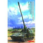 Meng Panzerhaubitze 2000 German Self-Propelled Howitzer - 1:35 bouwpakket