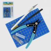Model Craft Plastic Modelling Tool Set (9-delig) - PTK1009