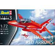 Revell BAe HAWK T.1 RED ARROWS in 1:72 bouwpakket