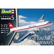 Revell DC-4 Balair Iceland Airways in 1:72 bouwpakket