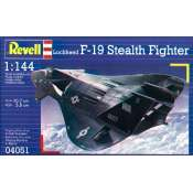 Revell F-19 Stealth Fighter in 1:144 bouwpakket