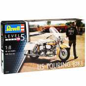 Revell US Touring Bike 1:8 bouwpakket