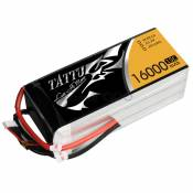 Tattu 16000mAh 22.2V 15-30C 6S1P Lipo Battery Pack