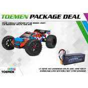 Team Corally KRONOS XP 6S Model 2021 1/8 Monster Truck LWB RTR - inclusief Power Package