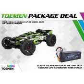 Team Corally MURACO XP 6S Model 2021 1/8 Truggy LWB RTR - inclusief Power Package