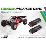 Team Losi 1/5 DBXL-E 2.0 4WD Brushless Desert Buggy Losi Body RTR Smart + Gens Ace Bashing Series 8000mAh