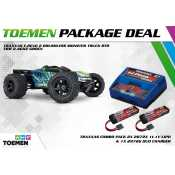Traxxas E-Revo 2 Brushless Monster Truck RTR TSM 2.4Ghz Groen - inclusief Power Package